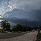 Intense storm over Lockport