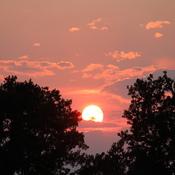 Last Sunset of July 2021