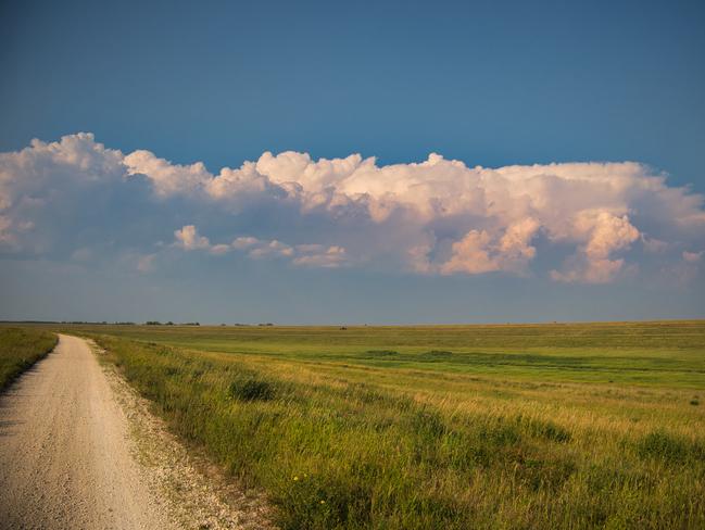 Prairie clouds East St. Paul, Manitoba, CA