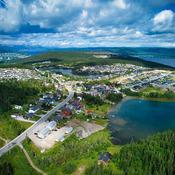 Birds eye View ! Massey Drive Newfoundland Canada