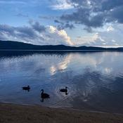 Lake of Two Rivers Beach