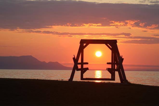 Sunrise at the beach Charlo, NB