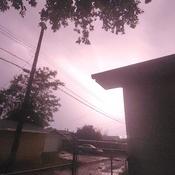 thunderstorm in northern alberta