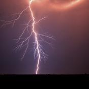 lightning in the smoke