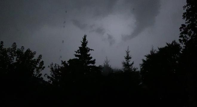 Thunderstorm Barrie, Ontario, CA