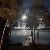 Moonlight on Drag Lake