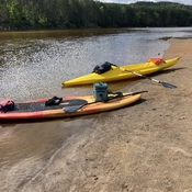 Paisible en kayak