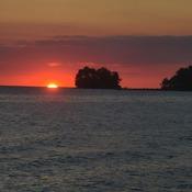 last bit of sunset