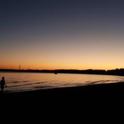 Evening twilight time