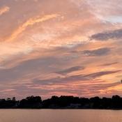 Sunset clouds!!