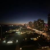 Sunset in Toronto