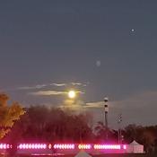 Moon on Saturday Night