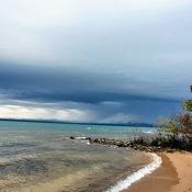 Ominous storm brewing