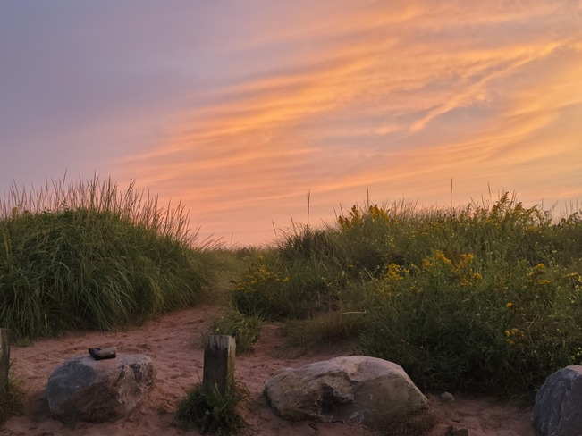 sunset Halifax, NS