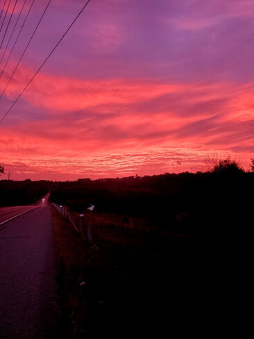 Morning sky Cobourg, ON