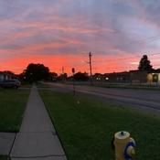 Sunrise in Niagara