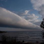 Horizontal funnel cloud