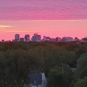 Sunrise in Winnipeg
