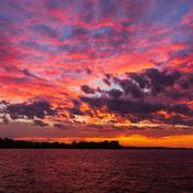 Bay of Quinte sky before sunrise