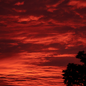 Sunrise in Bowmanville, Ontario