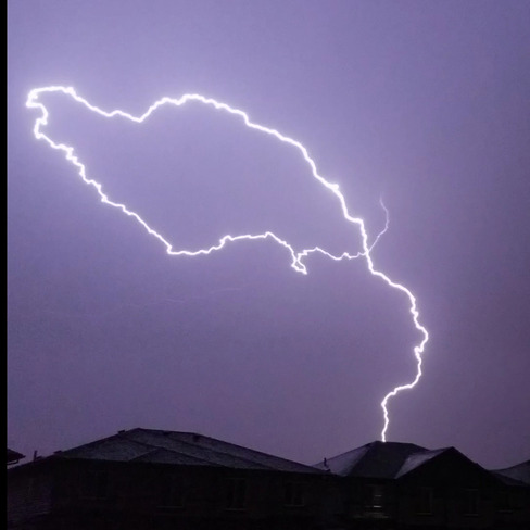 Storm over Edmonton Edmonton, AB