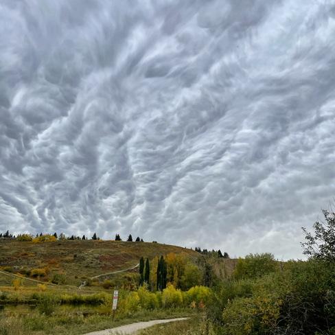 Clouds Calgary, AB