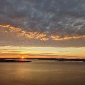 Sunrise from Devil's Rock, Temiskaming Shores, Ontario, Canada