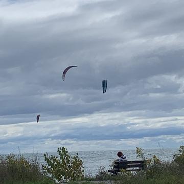 Para gliding water sports