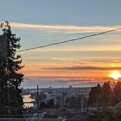 Sunset of yesterday
