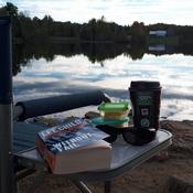 Relaxing at Silver Lake