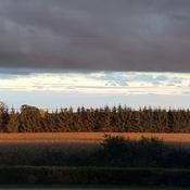 Beautiful Chantry,On September Sunset