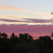 Sunrise at +7 degrees