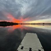 Sunset on Sunset Bay