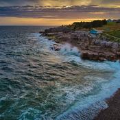"""Angry Seas"" Sheaves Cove Newfoundland And Labrador"