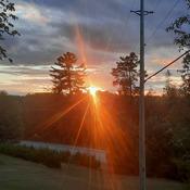 Plevna sunset , North Frontenac