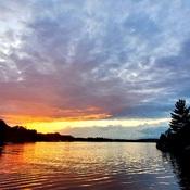 Muskoka Bay Sunset