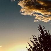 Daybreak in Corner Brook, by Bun Russell