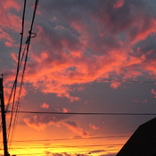 Evening Sunset Sky