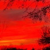 Saskatoon Saskatchewan Canada sunset