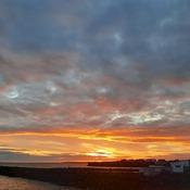Sunrise in Glace Bay