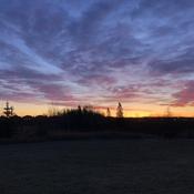 Molten sunrise
