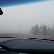Smoky afternoon