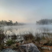 Sunday morning view of Shadow Lake