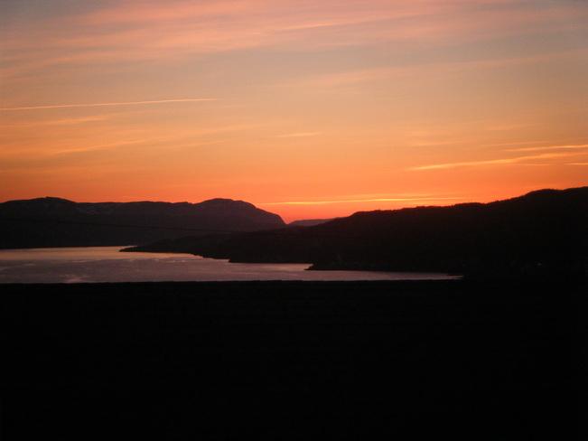Sunset, Bay of Islands, Corner Brook Corner Brook, Newfoundland and Labrador Canada