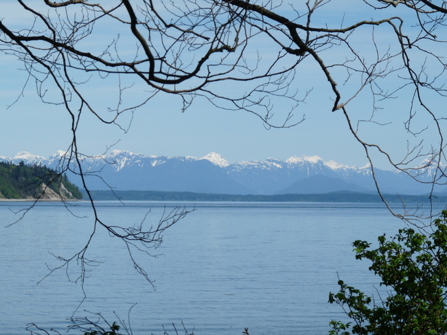 Amazing Mountain View Campbell River, British Columbia Canada