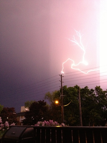 thunderstorm Goderich, Ontario Canada