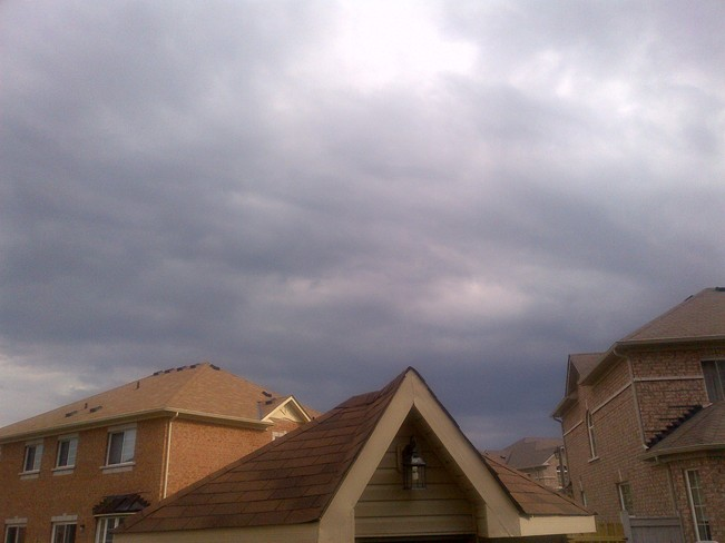The sky is getting darker Whitchurch-Stouffville, Ontario Canada