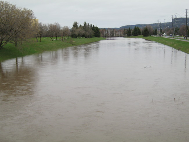 FLOODWAY FLOODED Thunder Bay, Ontario Canada