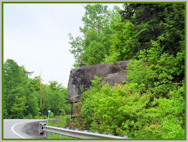 Driving East on 522? Look up! (A FitzPic) Dokis 9, Ontario Canada