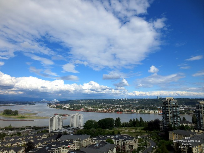 Beautiful day New Westminster, British Columbia Canada
